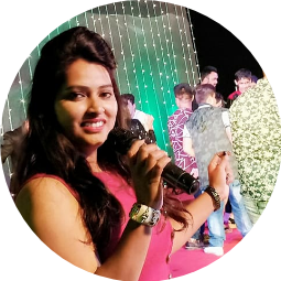 Anchor Shubhangi Profile Pic