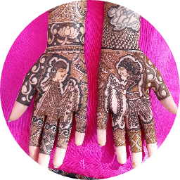 Amreens Mehandi Art Profile Pic
