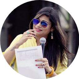 Anchor Monica Singh Profile Pic