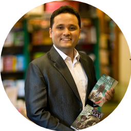 Amish Tripathi Profile Pic