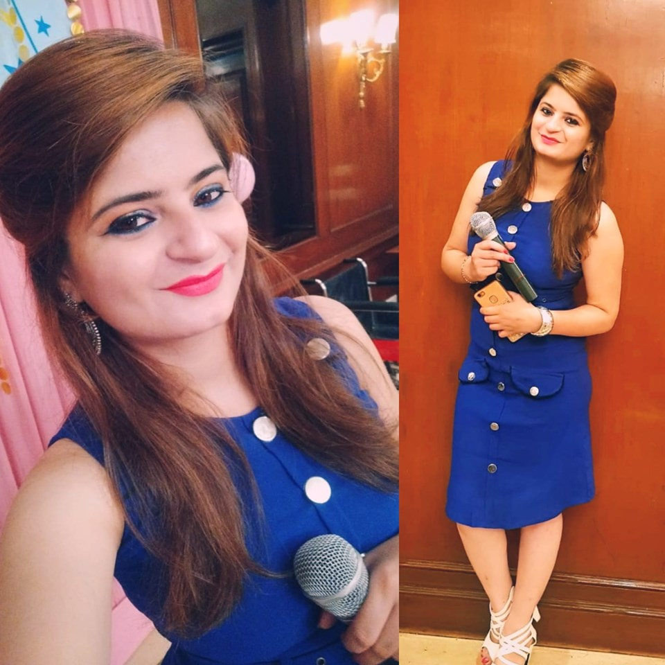 Anchor Shivani Arora Profile Pic